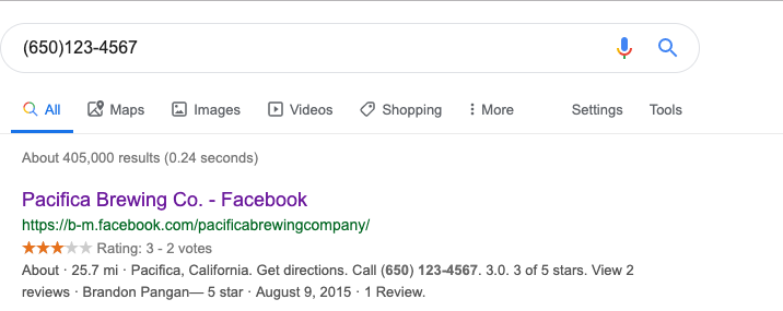 google free reverse