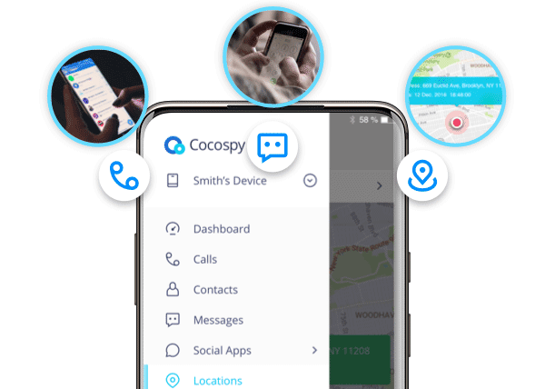 Cocospy SMS tracker app