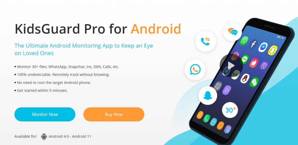 KidsGuard SMS tracker app